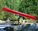 Portaging on Lady Evelyn River, Temagami, Ontario, Canada