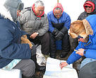 Climate Witness program, May 2006, in which WWF-Canada's Julia Langer, Director, Global Threats Program, interviewed resident Inuit on the effects of global warming on polar bears and Inuit communities, Boothia Peninsula, Nunavut, Canada.